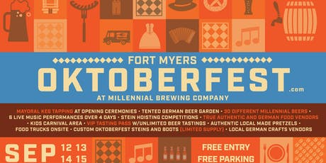 Fort Myers Oktoberfest 2019 VIP UNLIMITED Tasting Pass tickets