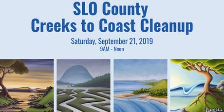 SLO County Creeks to Coast Cleanup tickets
