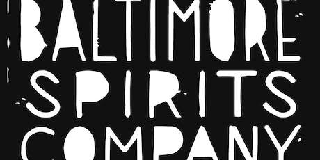 Baltimore Spirits Company Portfolio Tasting tickets