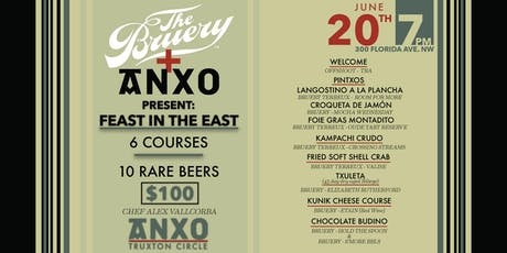 The Bruery & ANXO Present: Feast In The East tickets