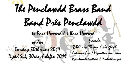 Parc Howard - an afternoon of music with Penclawdd Brass Band