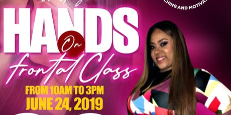 Lace Frontal Hands On Class tickets