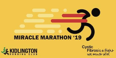 The Miracle Marathon tickets