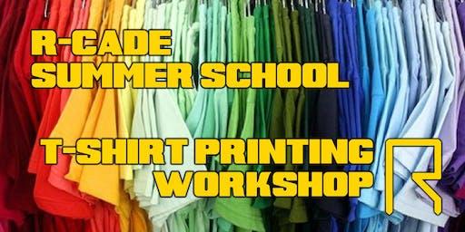 Summer School: T-Shirt Printing Workshop