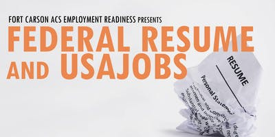 Federal Resume and USAJOBS; How To Apply
