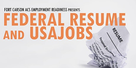 Federal Resume and USAJOBS; How To Apply tickets