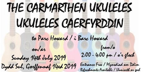 Parc Howard - an afternoon of music with Carmarthen Ukuleles tickets