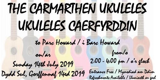 Parc Howard - an afternoon of music with Carmarthen Ukuleles