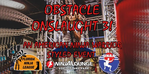 Obstacle Onslaught 3: An American Ninja Warrior-styled Competition