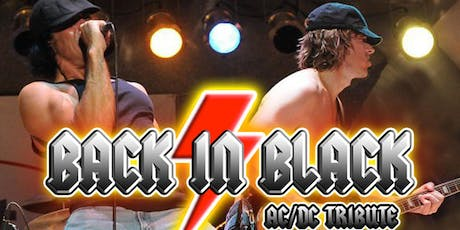 AC/DC Tribute BACK IN BLACK live in concert! tickets