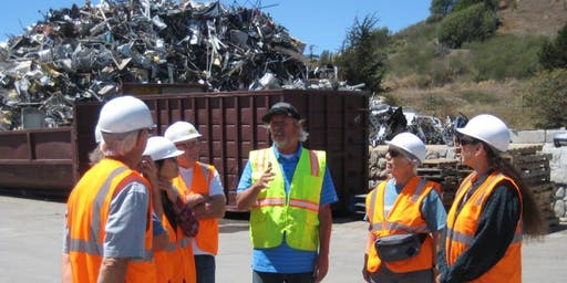 June Recycle Center Tour