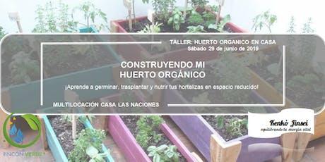 Taller: Construyendo Mi Huerto Orgánico entradas