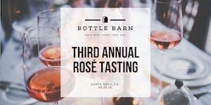 Bottle Barn Third Annual Rosé Tasting