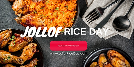 Africa In London - London Jollof Rice Day Fest | 22 August 2020