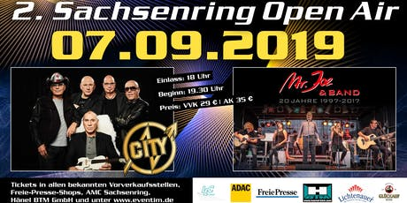 CITY.Ostrock // Mr.Joe // Sachsenring Open Air Tickets