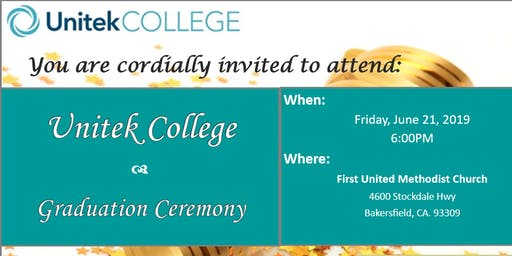 Unitek Graduation
