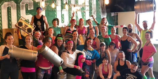 KegFit Presents 80's Workout Party at Lost Grove Brewing