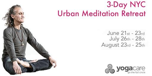 Urban Meditation Retreat: New York State of Mind - Weekend 3 (8/23-8/25)