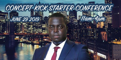 CONCEPT KICK STARTER CONFERENCE tickets