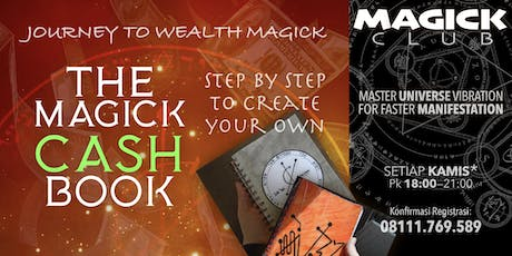 CASH BOOK - MAGICK CLUB tickets