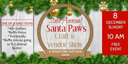 Beadedpinktopia's 2nd Annual Santa Paws Craft & Vendor Show