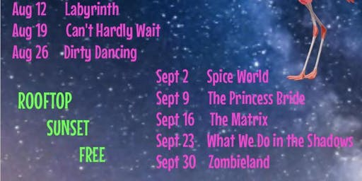 Free Rooftop Movie Monday: DIRTY DANCING!