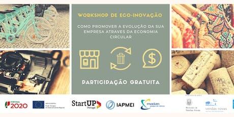 Workshop de Eco-inovação bilhetes