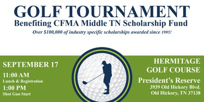 2019 CFMA Scholarship Golf Scramble
