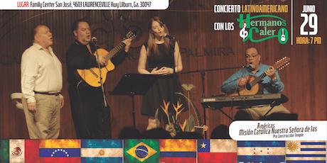 Concierto Latinoamericano con Los Hermanos Calero tickets