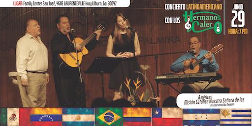 Concierto Latinoamericano con Los Hermanos Calero
