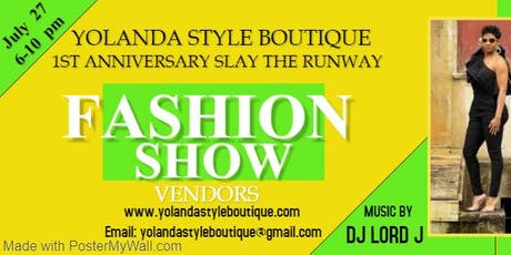 Yolanda Style Boutique Fashion Show/Vendor Event tickets