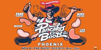 The Phoenix Pancakes & Booze Art Show