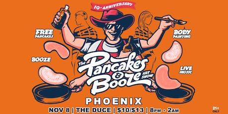 The Phoenix Pancakes & Booze Art Show tickets