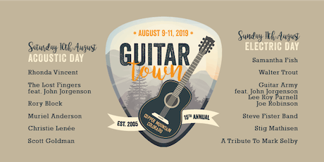 15th Annual Guitar Town tickets
