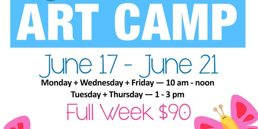 June Art Camp