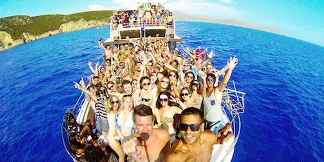 Kavos Booze Cruise - Boat Party Corfu tickets