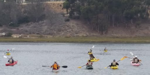 14th Annual Batiquitos Lagoon Kayak Cleanup & Fundraising Event, Saturday & Sunday, November 2-3, 2019