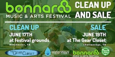 BONNAROO CLEAN UP & YARD SALE