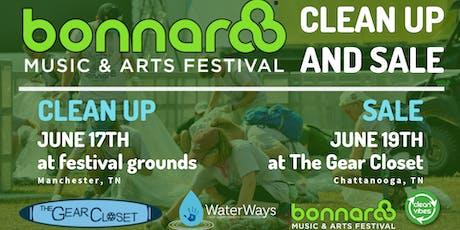 BONNAROO CLEAN UP & YARD SALE tickets