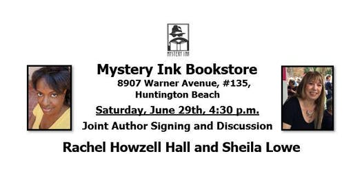 Authors Rachel Howzell Hall and Sheila Lowe - Joint Author Book Signing