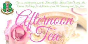 AKA Afternoon Tea with Ivy Icons