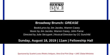 Broadway Brunch - GREASE tickets