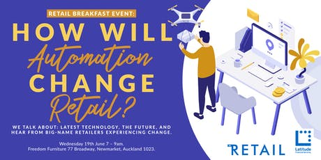 How will automation change retail? tickets