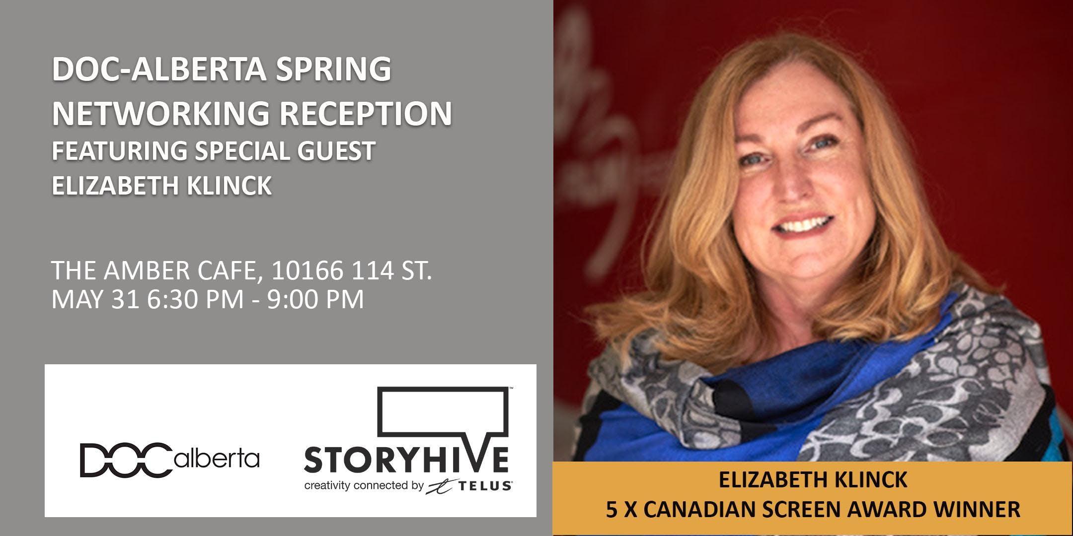 DOC-Alberta Spring Networking Reception