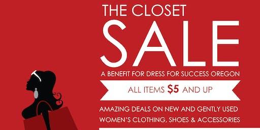 The Closet Sale