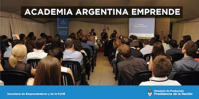 """AAE en Club de Emprendedores - """"Curso de Desarrollo comercial"""" - Morón, Prov. de Buenos Aires."""