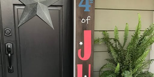 Porch Sign or Gowth Ruler