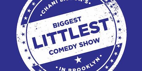 Chani Lisbon's Biggest Littlest Comedy Show in Brooklyn tickets