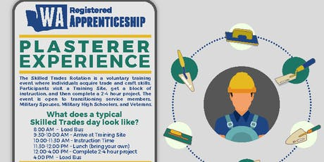Plasterers Hands on Experience (Skilled Trades Rotation) tickets