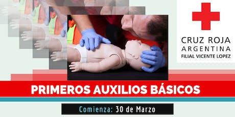 Curso de Primeros Auxilios Pediatricos, 03 de Agosto (8.30 a 13.30hs) entradas